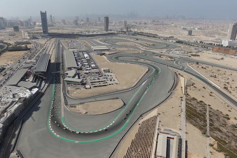 Dubai Autodrome Helicopter Kopie