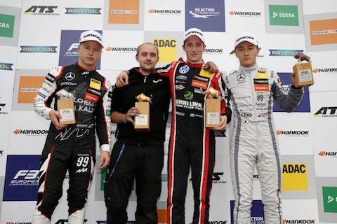 170924 F3 R3 podium