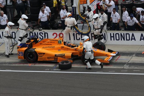 170527 Indy 500 Alonso