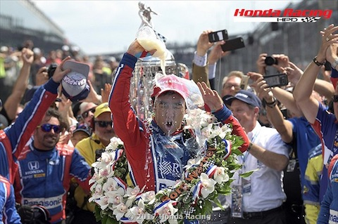 170528 Indy500 Sato Milk