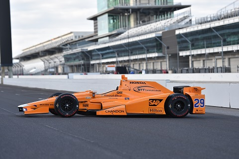 McLaren Dallara Honda 1