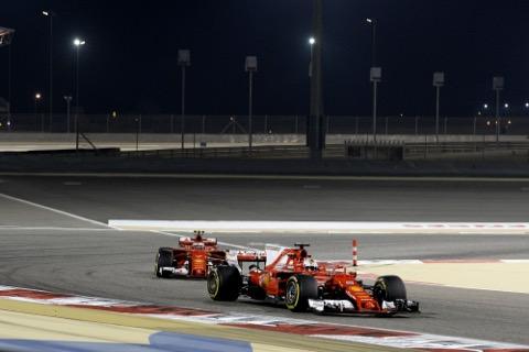 Vettel voor Räikkönen