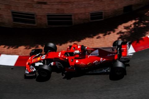Vettel stoeprand