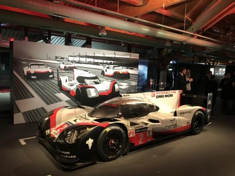 171210 Porsche LMP1 LeMans