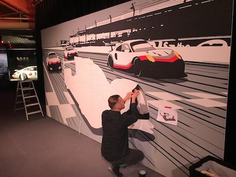 171211 Porsche kunstenaar
