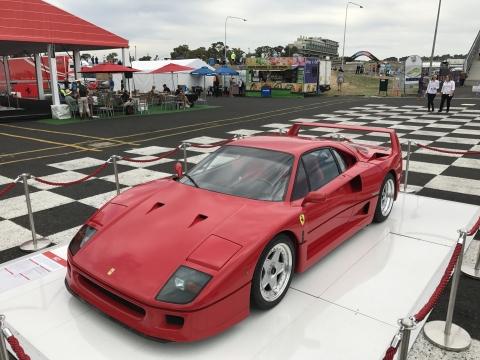 170204 Bathurst notities Ferrari