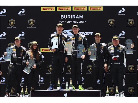 170531 Lamborghini Asia Breukers podium