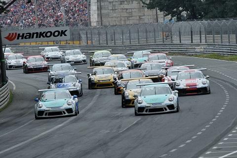 1707 Start Porsche Cup
