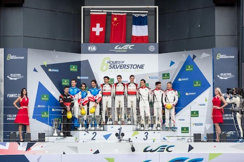 170416 FIA WEC Race LMP2 podium