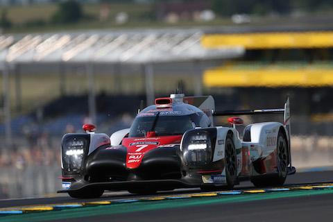 170604 Le Mans Test Toyota