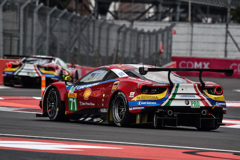 170903 WEC kwalificatie Ferrari