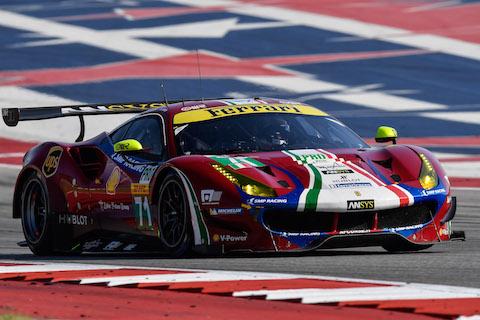170915 FIA WEC kwalificatie Ferrari