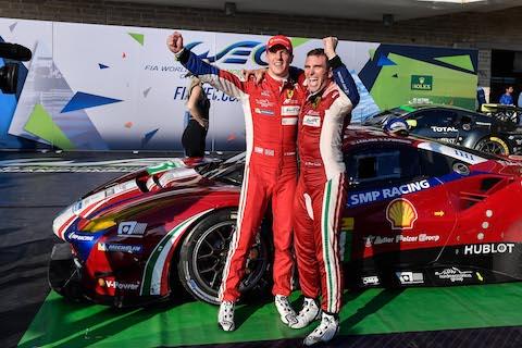 170917 FIA WEC race Ferrari