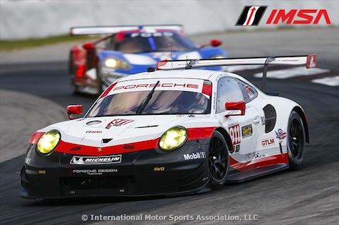 170708 IMSA kwalificatie Porsche
