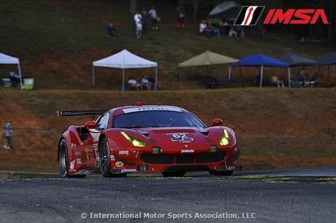 171006 IMSA quali Ferrari GTE
