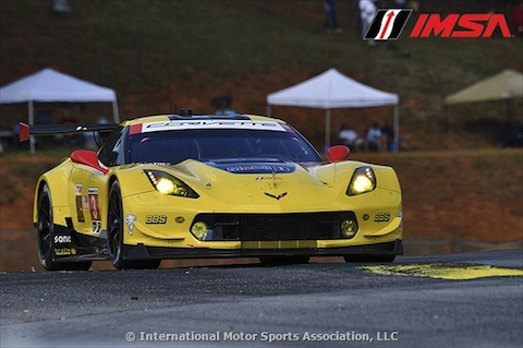 171007 IMSA kampioenen Corvette