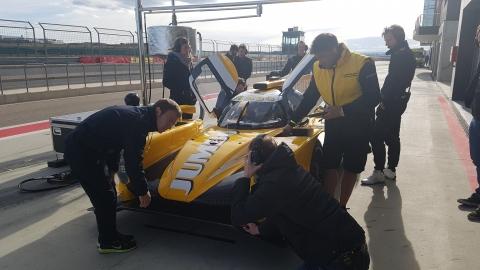 RTN test Aragon 2017 pits