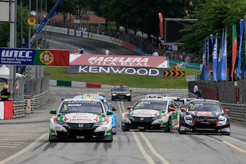 170625 FIA WTCC Vila Real R2 start