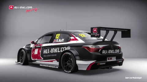 170120 WTCC Citroen Huff rear