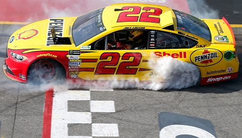 2017 Logano Burnout
