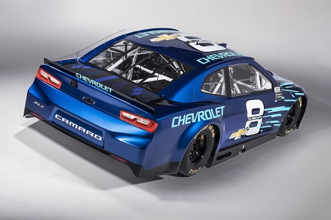 Chevrolet Camaro ZL1 Race Car Rear