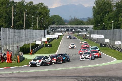 2017 Monza Race 1 start