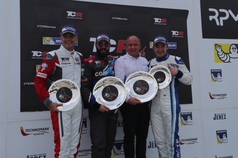 2017 Monza Race 2 podium