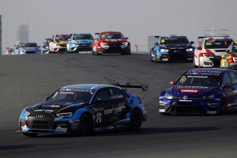 2017 Dubai Race 2 Comini