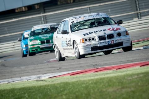 Ooperon BMW Cup 9 kampioen Van der Spek 10 Boertien Verswijveren daarachter Van Leeuwen Foto Serge Duursma