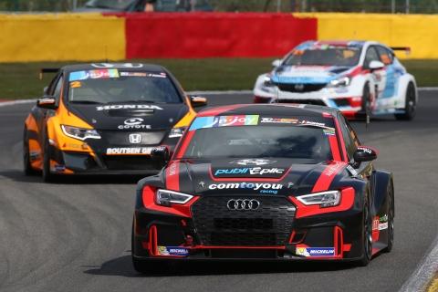 TCR Benelux - Audi  Comini-Van der Linde - Honda Lessennes-Guibbert