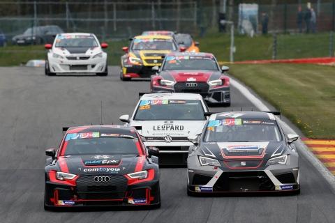 TCR Benelux Audi Comini-Van der Linde - SEAT Mondron-Mondron - VW Vernay-Huff