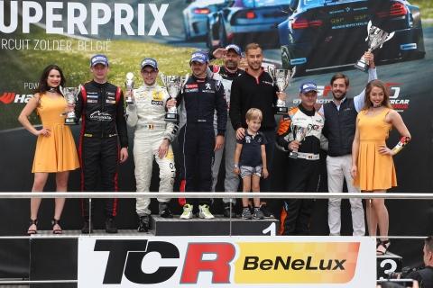 TCR Benelux - Round 4 - FINAL Podium
