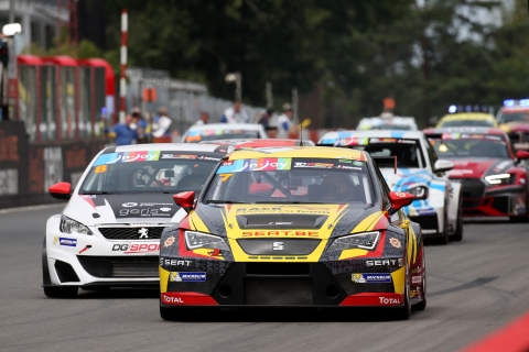 TCR Benelux - Zolder Superprix - Start QLR