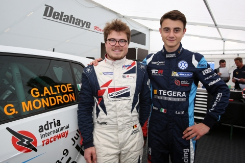 TCR Benelux - Guillaume Mondron  Giacomo Altoè