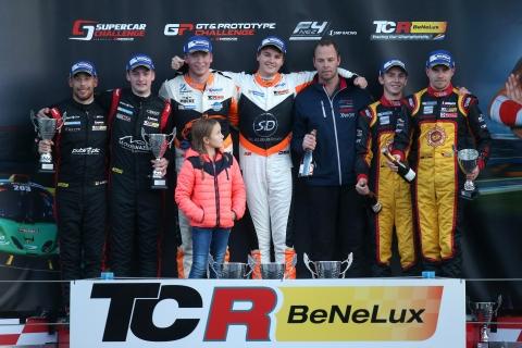 TCR Benelux - Round 6 - QLR Podium
