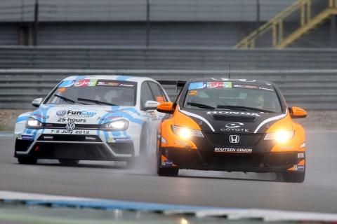 TCR Benelux - VW Guillaume Mondron - Honda Benjamin Lessenens