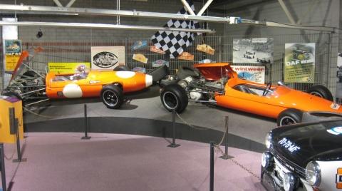 DAF Museum Formule 3 race-autos