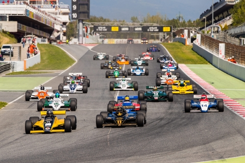 Masters-Historic-Formula-One Montjuic-Barcelona