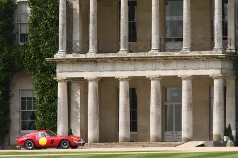 De 250 GTO waarmee de Lord zich verplaatste