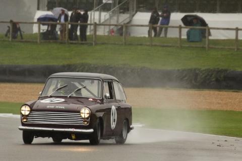 Zo snel ging nog nooit een Austin A40