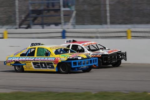 Saloon Stockcar op Raceway Venray 2