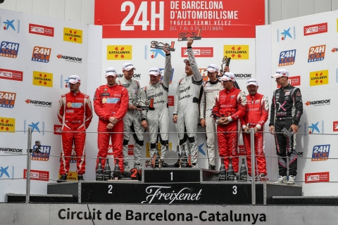 Podium Overall GT