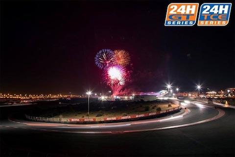 180112 Dubai midnight Vuurwerk