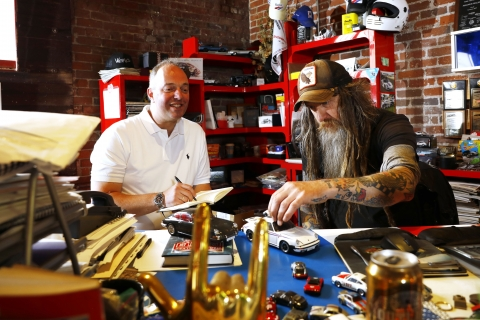 Overzicht Magnus Walker april