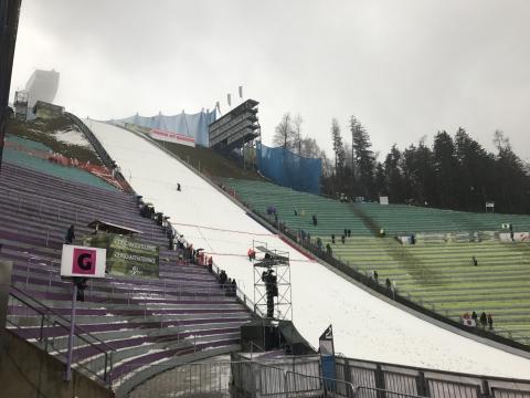 Overzicht januari skispringen