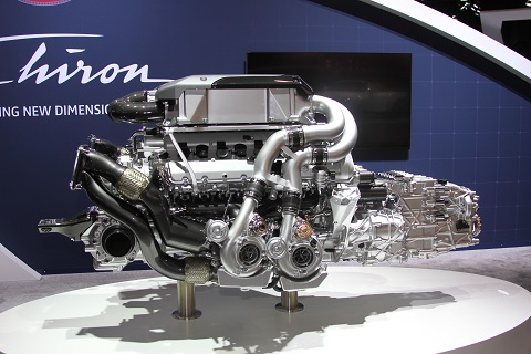 2018 Chiron Motor