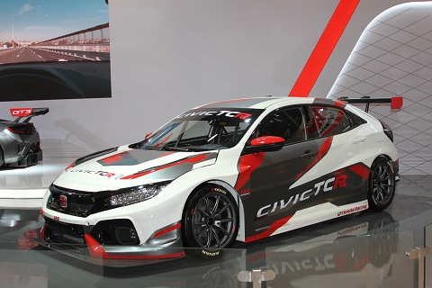 2018 Honda Civic TCR 1