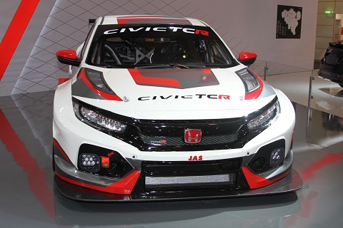 2018 Honda Civic TCR 2