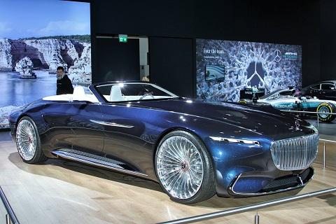 2018 Maybach Mercedes