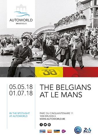 Belgians at Le Mans aff A4